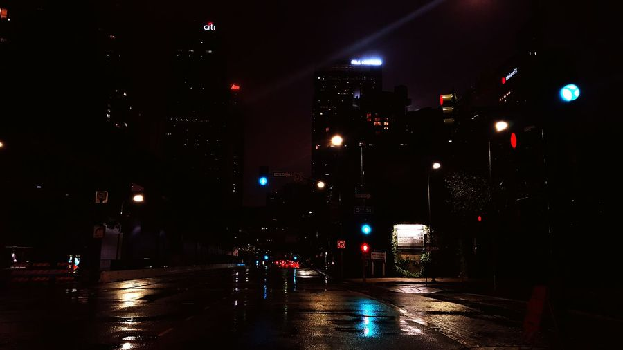 Downtown L.A. Is awesome when it's raining ➰ Losangeles Downtown Rain Intothewildlife Smartphonephotography