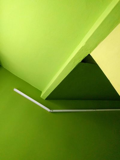 Green Color Indoors  Architecture No People BYOPaper! Backgrounds Visual Feast Copy Space Shapes And Forms Light And Shadow