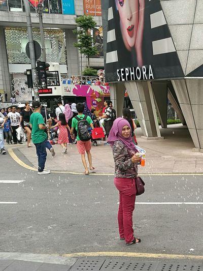 Soap Bubbles Muslimah Muslim Woman Malaysia Kuala Lumpur Headscarf Malaysia Scenery Malaysia Truly Asia