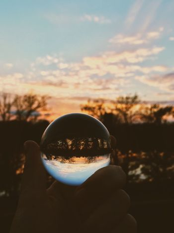Little Crystal Ball Sunset Urban Landscape VSCO Depth Of Field Perfect Match