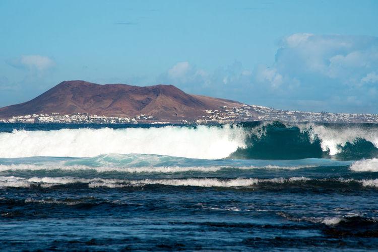 Fuerteventura- corralejo - lanzarote  view