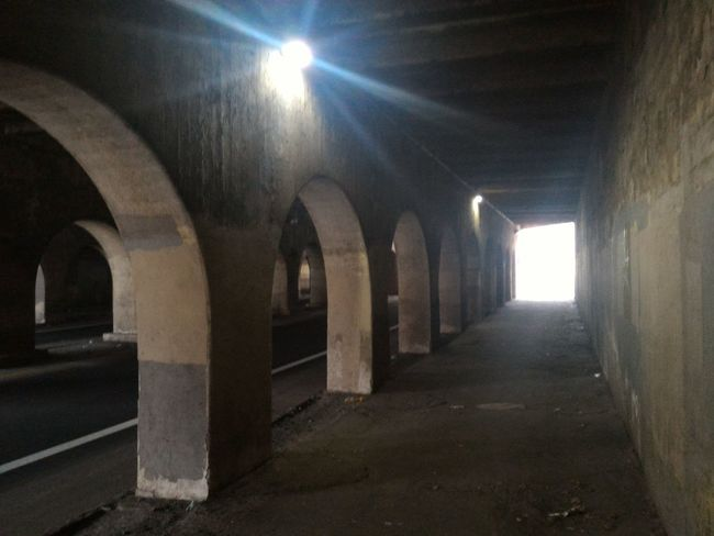 The Road Of Hope (leading to SSA FO) # 02 Arch Architectural Column Architecture Built Structure Day Frightening Illuminated Indoors  No People The Way Forward