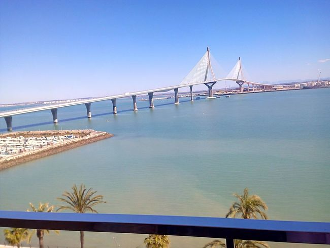 Bridge Sea SPAIN Cadiz Andalucía Cadizfornia Cadizturismo Sunny Day Today ☺ Puente Día Soleado Sea And Sky Seaside Sea View Blue Sky Boats Summer
