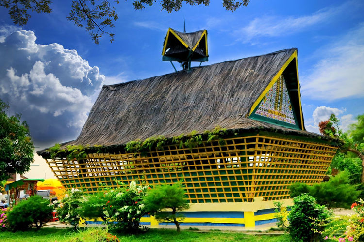 Maimun palace flower garden house Istana Maimun Maimunah Sky Cloud - Sky Architecture Plant Built Structure Building Exterior Nature Tree Building Day Outdoors No People House Beauty In Nature Grass Sunlight Travel Destinations Growth Park City EyeEmNewHere