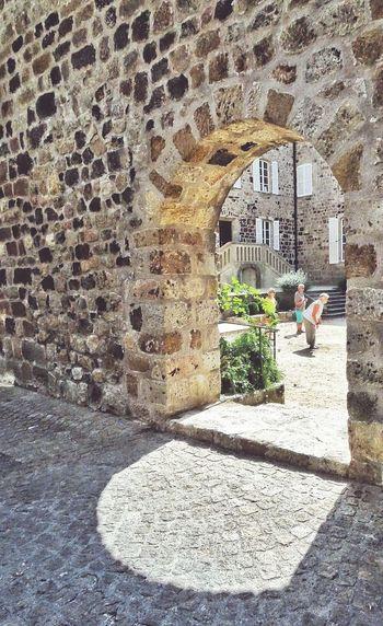 Morceau De Vie Village Streetphotography France Ardeche Thuyets Typical Petanque