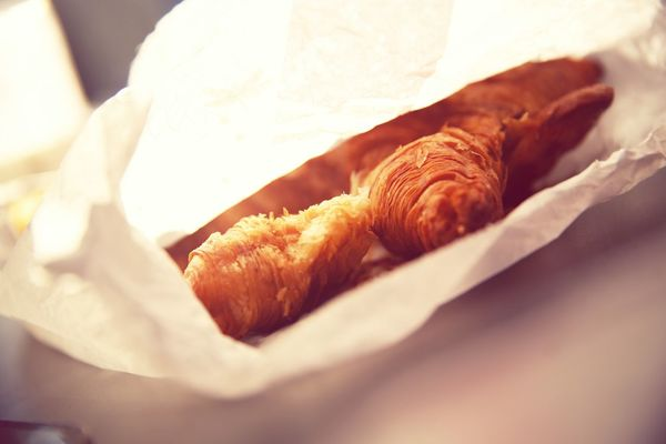Crossaint Croissant For Breakfast Croissants France Breakfast Time Snack Snack Time! Snacking