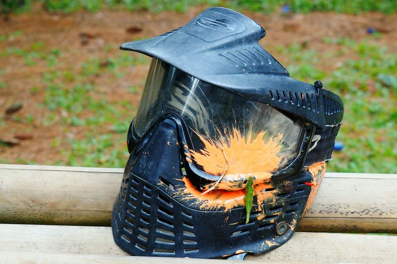 Paintball Mask Paintball Team Paintball Photography Paintballtime Paintballing Paintball Sport Outdoors No People Close-up Protection Safety Headwear