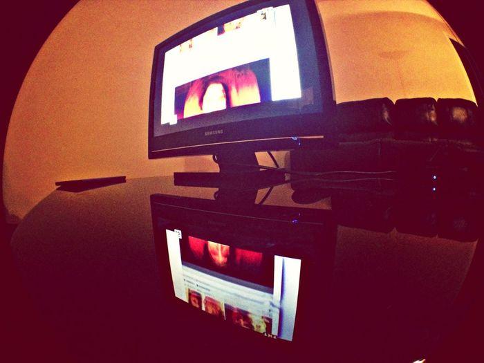 Watching TV :)
