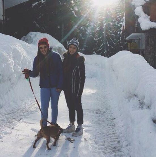 Friends Snow Sun Love my best❤️