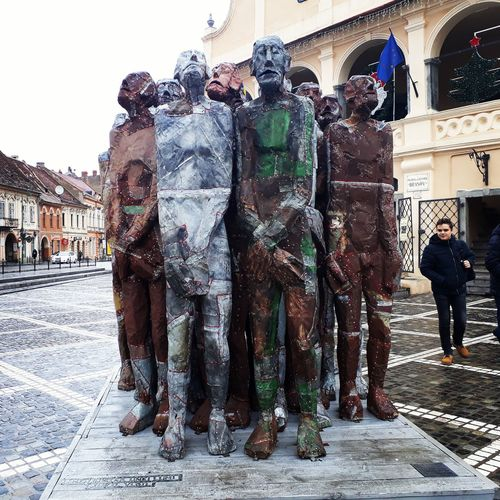 Historic Comunism Monument Sadphotography Brasov Romania