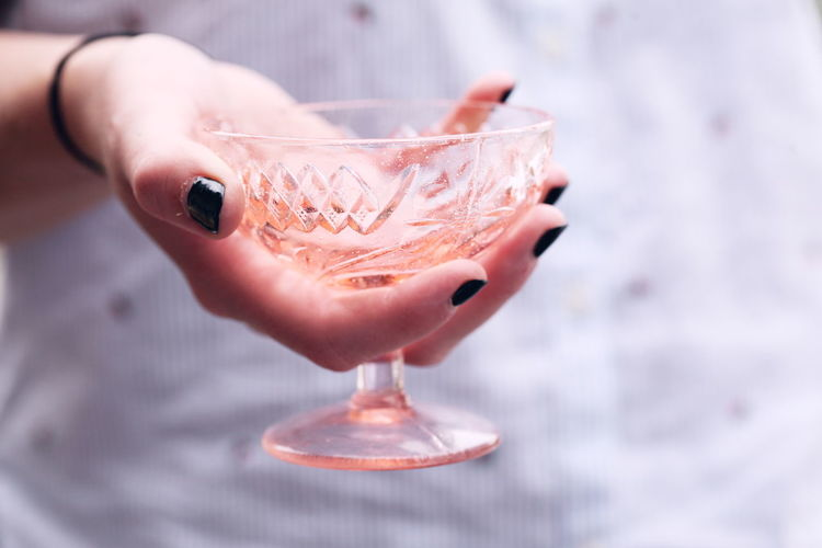 Adult Alcohol Cocktail Drink Drinking Glass Finger Focus On Foreground Food And Drink Glass Hand Holding Human Hand Martini Martini Glass One Person Refreshment Temptation