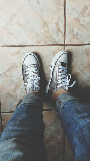 Converseallstar Shoes Silver