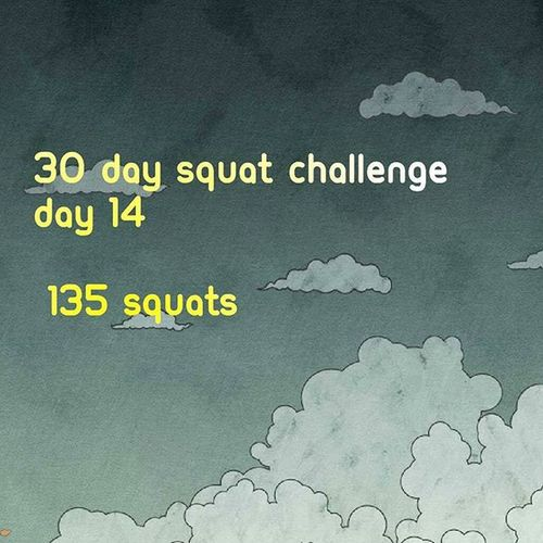 Day 14! 1 set! PlayingCatchUp Workthoseglutes Peach