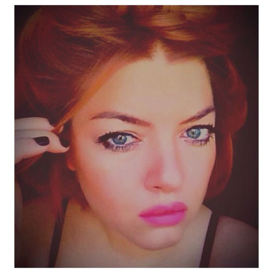 Pretty♡ Patty!!! Red Hair Sexy Lips