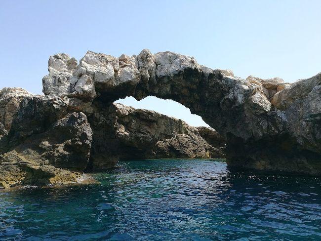 Mare ❤ Mare Adriatic Sea Adriatico Tremiti Islands Tremiti San Domino Arco Naturale Connected By Travel Lost In The Landscape