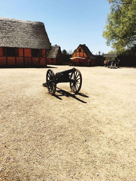 Jamestown sightseeing.