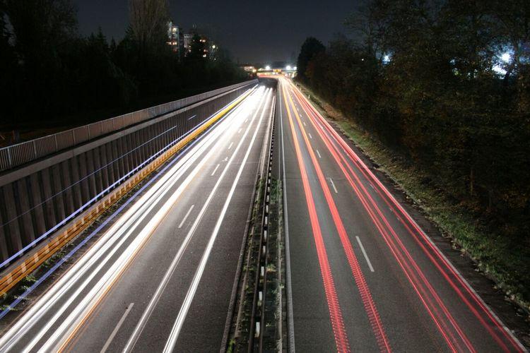 Long Exposure Worms Nightphotography Lighttrails