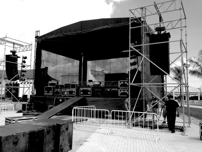 Concert Blackandwhite Stage