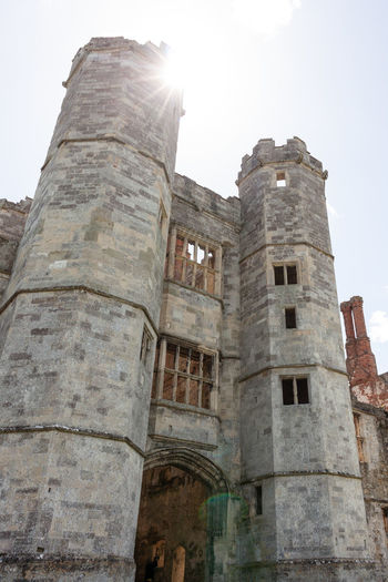 Abbey Sun English Heritage Building Architecture Building Building Exterior Built Structure Clear Sky Day English Heritage History Low Angle View No People Old Outdoors Sky Stone Wall Sunlight The Past Titchfield Abbey Tourism Tower Travel Travel Destinations Window