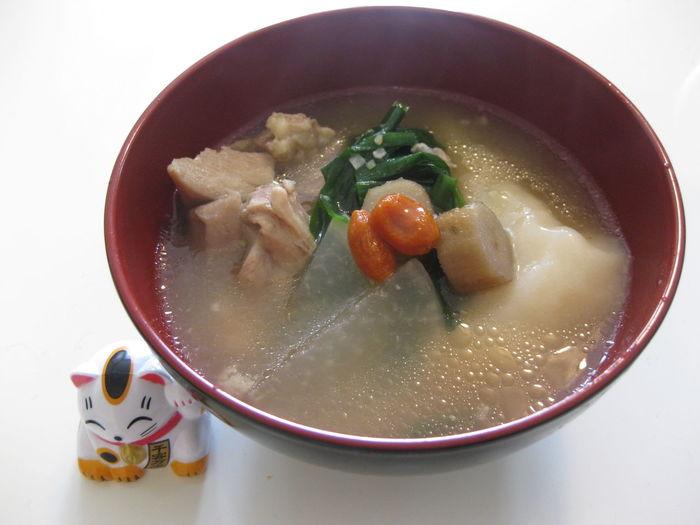 Bowl Food Japanese Food New Year Food No People Soup しょうがつ 吸い物 正月