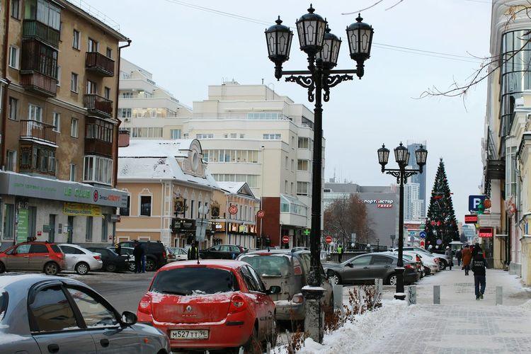Winter Snow Cityscapes City Life