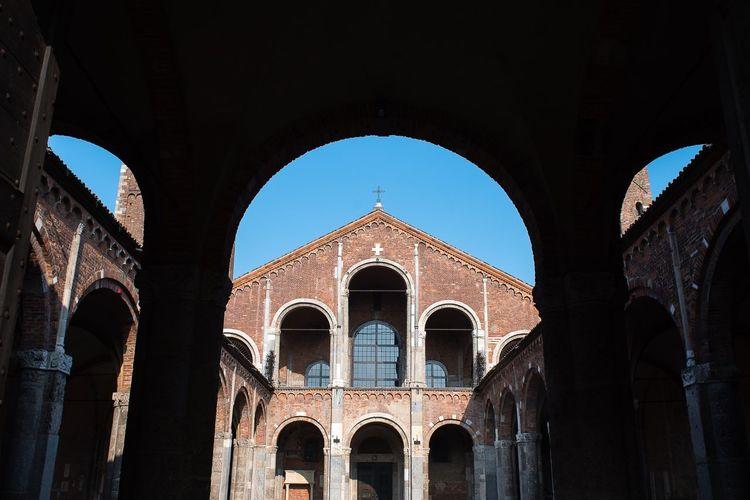 Sant Ambrogio Arch Built Structure Architecture Building Exterior Travel Destinations The Past History