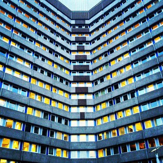 Some building that I ran by yesterday, such a symmetry! Building Symmetry