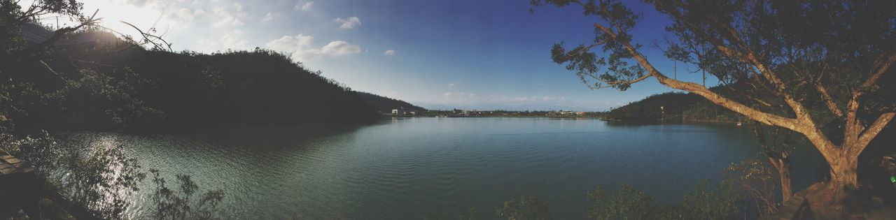 Taiwan Garageimg Panorama Lake View Mountain Nature Beauty In Nature Landscape Outdoors