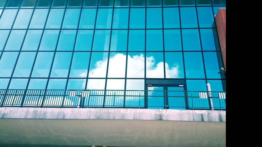 Cloud on the window. Window Sky Built Structure Architecture No People Outdoors Clouds And Sky School Day