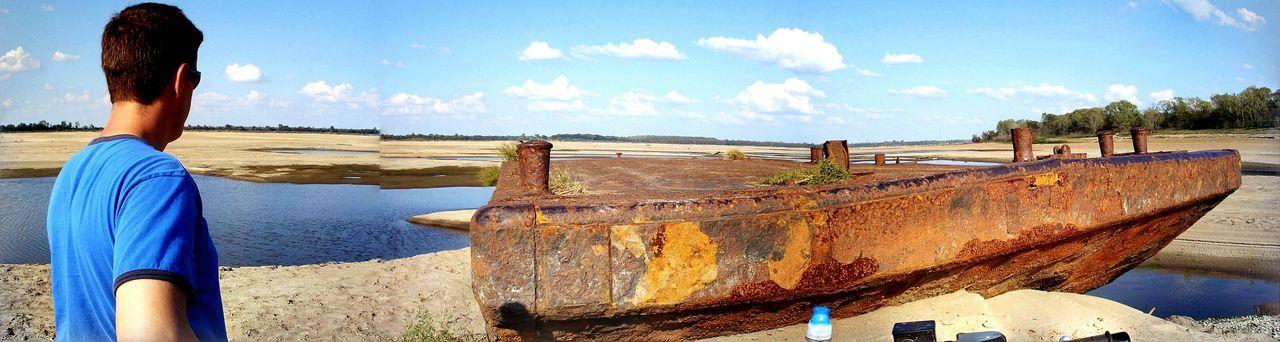 Duval Landing, Shelby Forest Boat Ramp Sunken Ship Mississippi River Sand Bar The Mississippi River