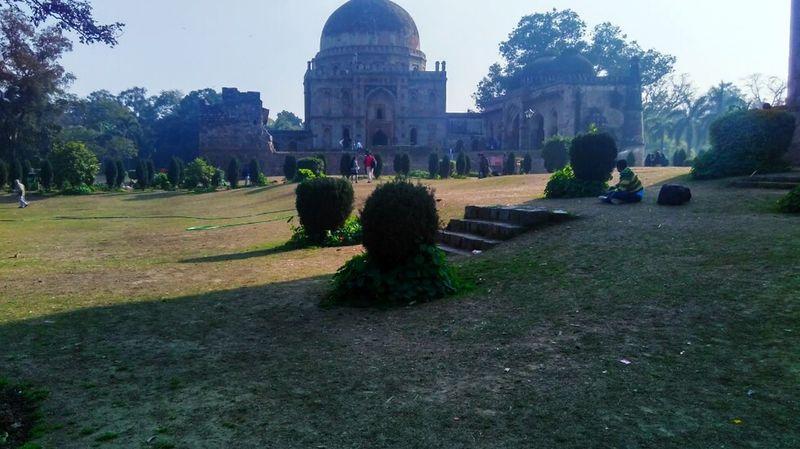 Tomb Garden Historic Archeological Travel Gardens LodhiGarden