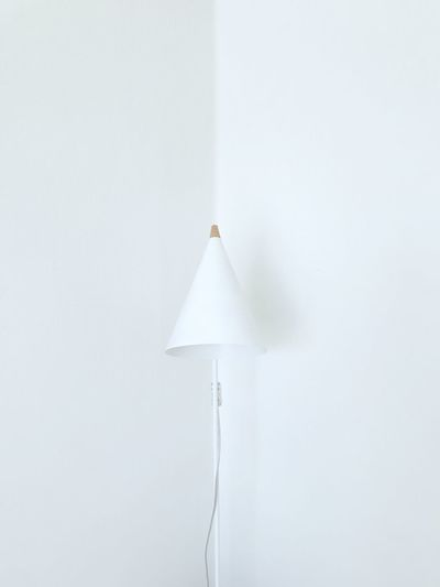 White in white (m) White Color Wall - Building Feature Indoors  No People Copy Space Hanging Close-up Lighting Equipment Home Interior Still Life Shape Design White Architecture Paper Ceiling Decoration White Background Built Structure Studio Shot The Minimalist - 2019 EyeEm Awards