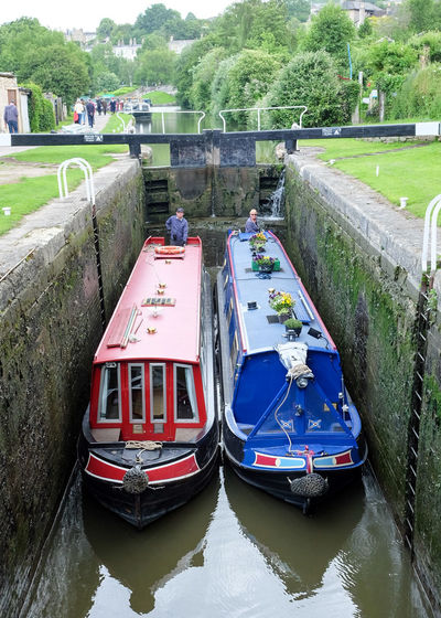 Water Day Nautical Vessel Outdoors Architecture Nature Barge Canal Bath