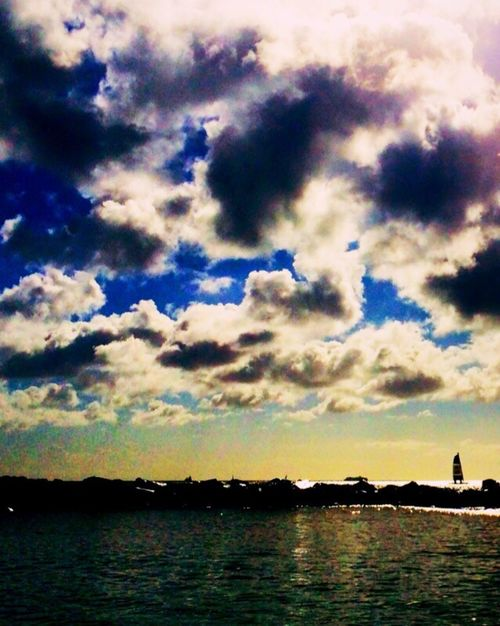 Taking Photos IPhoneography Clouds And Sky Traveling Ocean Carribean Water