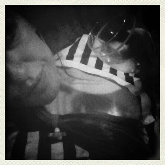 Drinking too much wine and wearing my old boyfriend's shirt. Perfectsaturdaynight