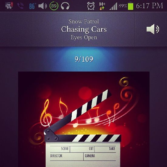 Listening to one of my favorite song while I'm on my way home. Senti mode together with this cold weather. ChasingCars Openeyes Senti Music love memoirs