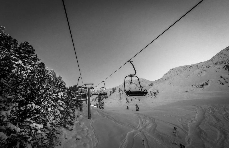 A Sunny Skiing