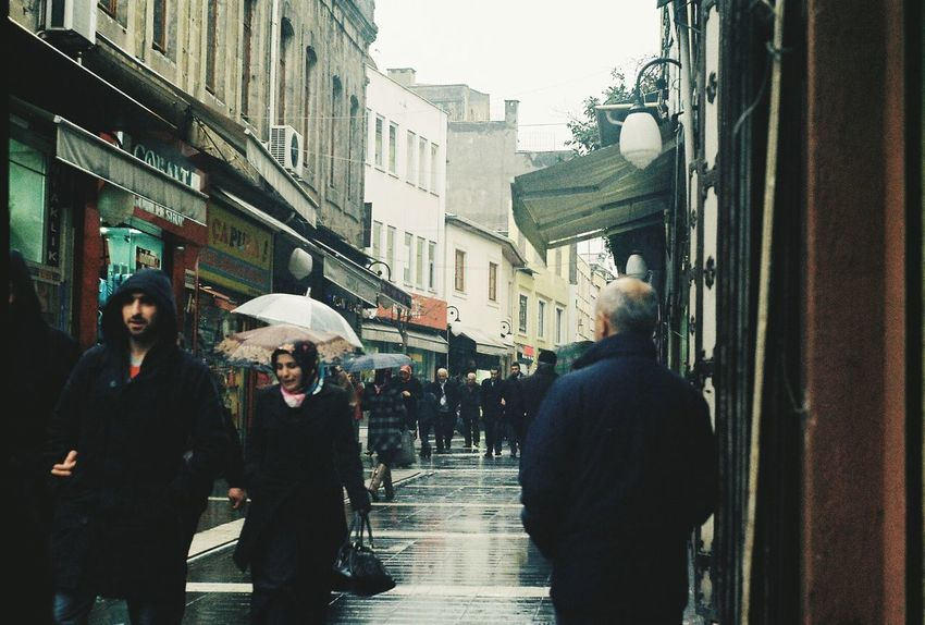 Kemeraltı Rainy Day Depressive Umbrellas Amazing View Trabzon Taking Photos Zenit122 Check This Out Forbidden