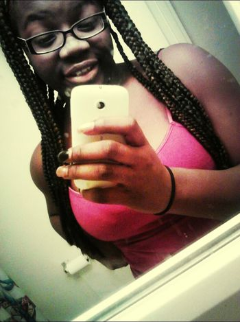 Boutah Get Ina Shower ' An Then Be Headed Out