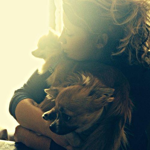 Angelique et c deux Amours. Dog Dogs I Love My Dog