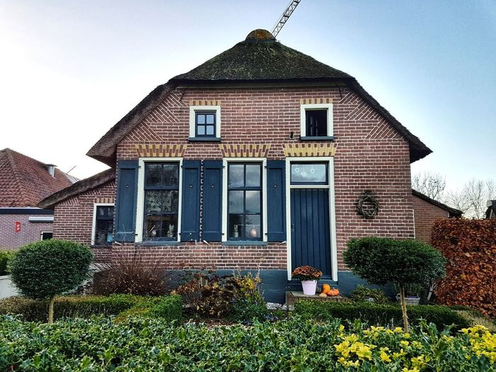House Architecture The Netherlands Bricks House Building Exterior Architecture Built Structure Outdoors No People Residential Building