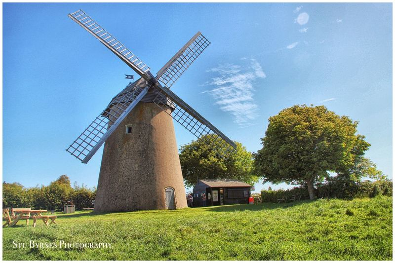 Bembridge Windmill Landscape_photography Isle Of Wight  Nikon D7100 Bembridge England Windmill