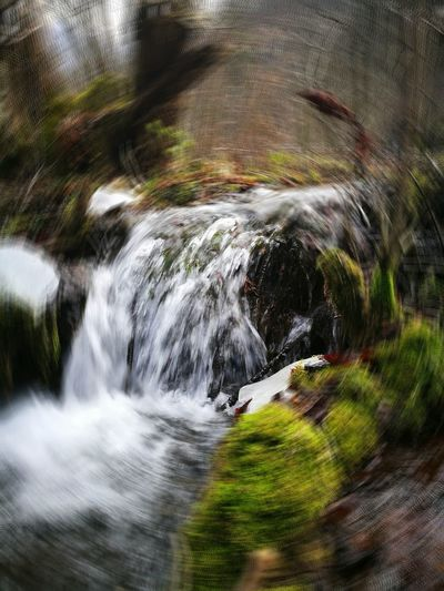 Water Motion Nature No People Waterfall Beauty In Nature Long Exposure Outdoors Splashing Scenics Blurred Motion Day Power In Nature Circular Circular Nature Full Frame Forest Landscape Standing Warm Clothing Winter