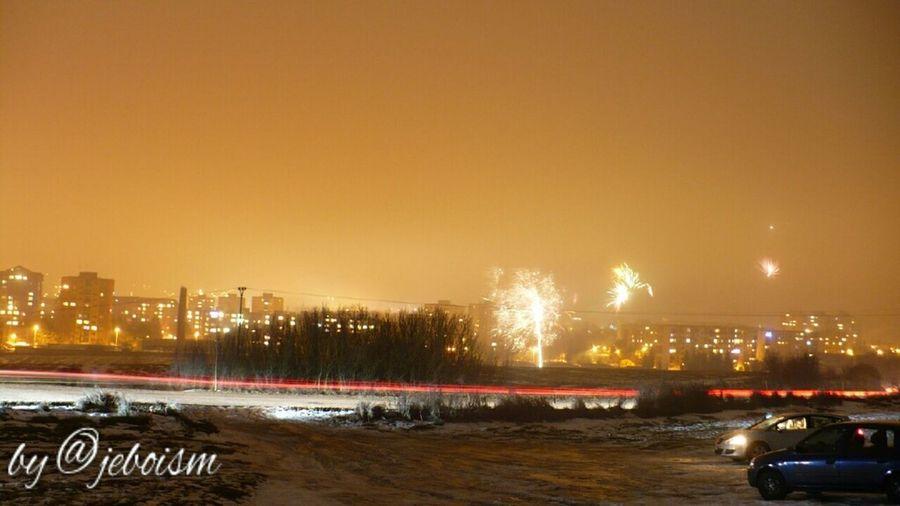 Exploring Taking Photos Night Lights My Town Long Exposure Bardejov Nightcall