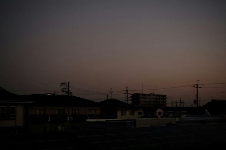 The daybreak later Japanese  Japan X-Pro1 My Photography Voightlander Nokton Classic 40mm/F1.4 SC Voigtlnder Fujifilm X-Pro1 The World - My Hood My Hood City Sky Tired Morning Morning Morning Glow