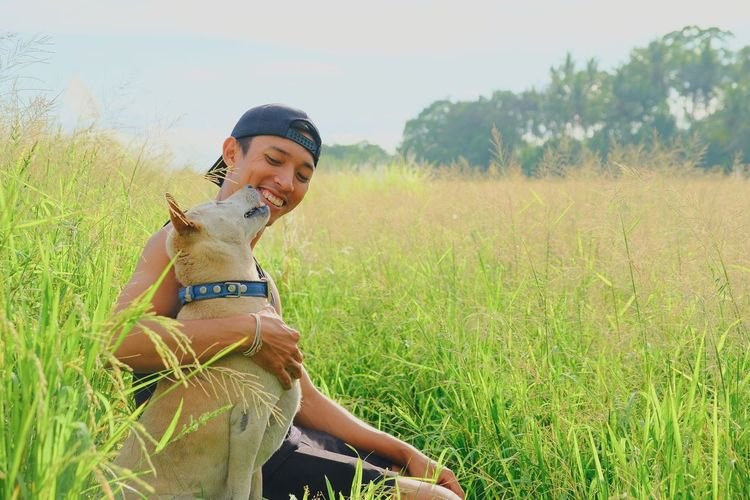 piko and the boss EyeEm Selects Balinese Dog Love Dogs Of EyeEm Dogslife Dog Animal Themes Nature Rice Paddy Bali Life EyeEm Best Shots EyeEmNewHere EyeEm Nature Lover EyeEm Selects EyeEm Gallery EyeEm EyeEmBestPics My Best Photo