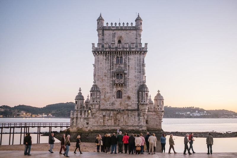 Belém Drone  Torre De Belém Travel Architecture Belem Tower Building Exterior Built Structure Clear Sky Day Drohne Dronephotography Droneshot History Large Group Of People Leisure Activity Lifestyles Lisboa Lisbon Lissabon Luftaufnahme Men Nature Outdoors People Real People Sky Tourism Travel Travel Destinations Vacations Water Women