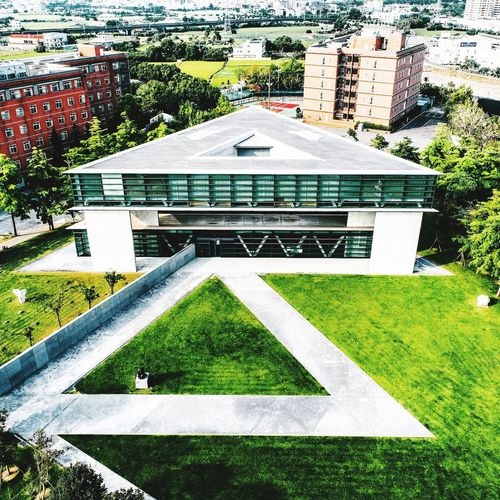 City Park - Man Made Space Architecture Building Exterior Grass Built Structure Green Color