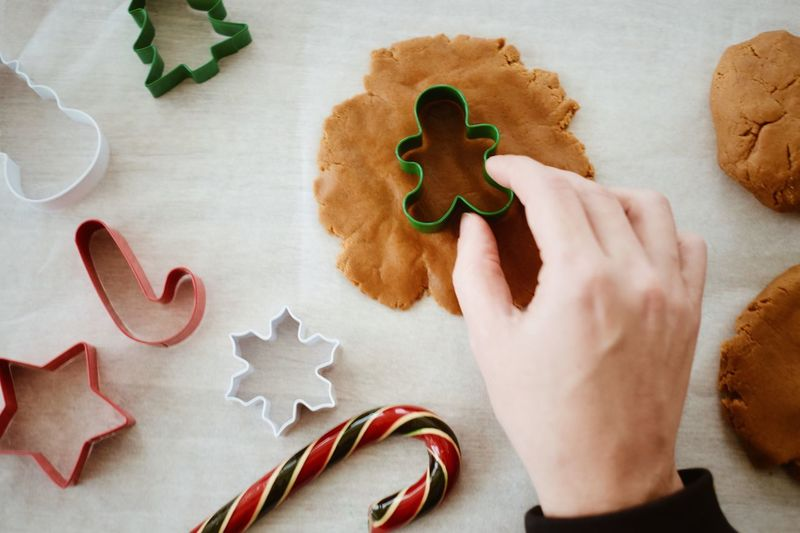DIY Christmastime Christmas Time Baking EyeEm Gallery Holidays Holiday Celebrations Hands At Work Christmas Decoration Eye4photography  Human Hand Representation Cookie Human Body Part Hand Christmas Indoors  Food Sweet Food Art And Craft Celebration Gingerbread Cookie Preparation  Holiday Design Shape Holiday Moments Moments Of Happiness