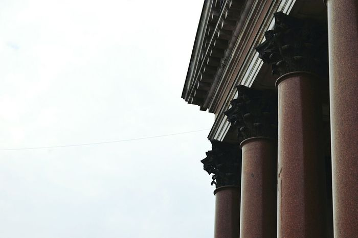 Saint Isaac's Cathedral Architecture Architecture_collection Old Buildings Town Church Time Colonnes Walking Saint-Petersburg